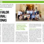 Sello RSA+ 2019 Reportaje Publicado en el Heraldo de Aragón el 18_12_18