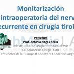 FORMACION BESTMEDIC TECHMEDICLAB MONITORIZACION INTRAOPERATORIA NERVIO RECURRENTE